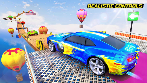 New Car Stunts Mega Ramp Car Driving Games 1.4 screenshots 1