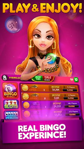 Bingo 90 Live: Vegas Slots & Free Bingo 16.32 Mod screenshots 1