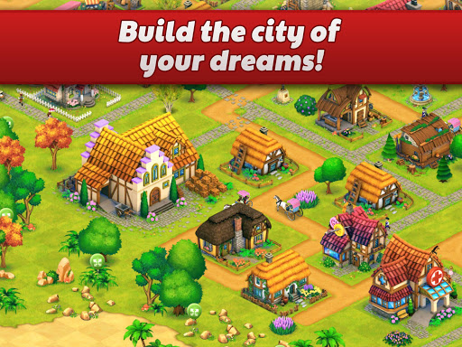 Town Village: Farm, Build, Trade, Harvest City 1.9.6 screenshots 8