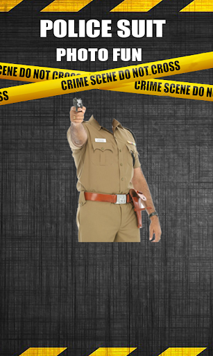 Police Suit : Photo Fun