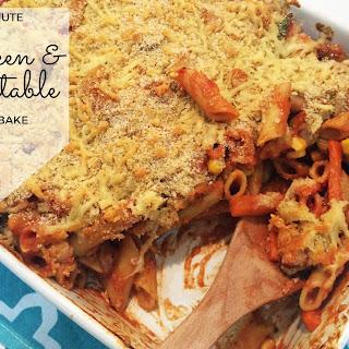 30 Minute Chicken & Vegetable Pasta Bake