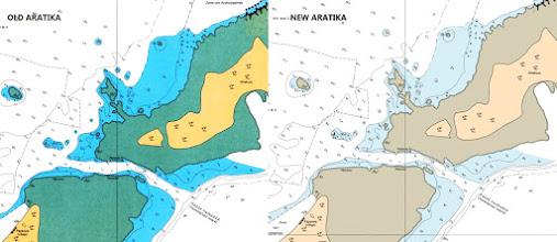 Photo: Aratika - French Polynesia and New Caledonia Raster Chart Update - http://www.maxsea.com/products/charts/list/oceania/raster/wide/mapmedia/french_polynesia_new_caledonia