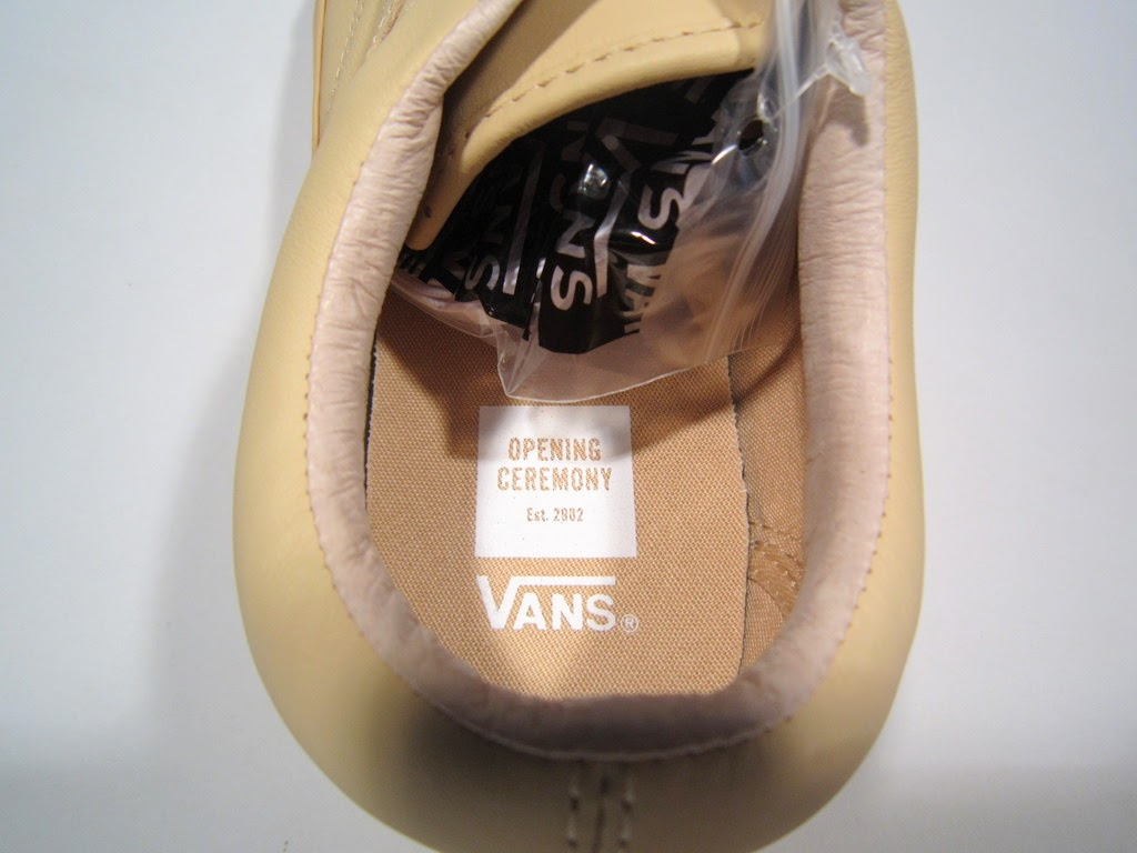 90417a9c02fc BRAND NEW OPENING CEREMONY x VANS OLD SKOOL LX BEIGE TAN MEN S 8.5 ...