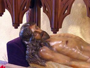 Photo: Real Cofradía del Santísimo Sacramento y la Santa Vera Cruz (León) - Cristo Yacent(Obra de Jacinto Higueras)