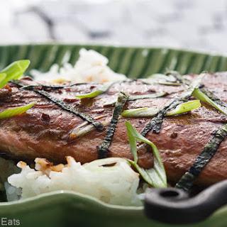 Mirin-Glazed Salmon.