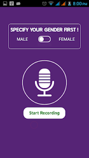 Download Call Voice Changer Male to Female During Call For PC Windows and Mac apk screenshot 2