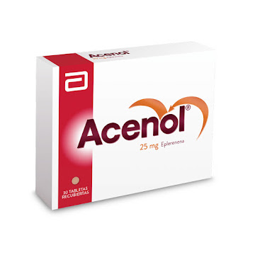 Acenol 25Mg Tabletas Caja