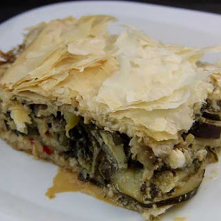 Vegetable Phyllo Pie (Island of Crete).
