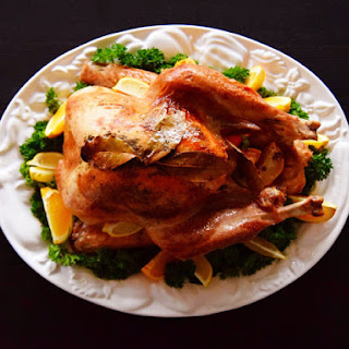 Ale Brined and Infused Roast Turkey