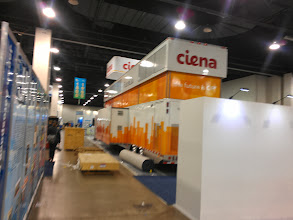 Photo: Ciena, also in on the party-truck game.