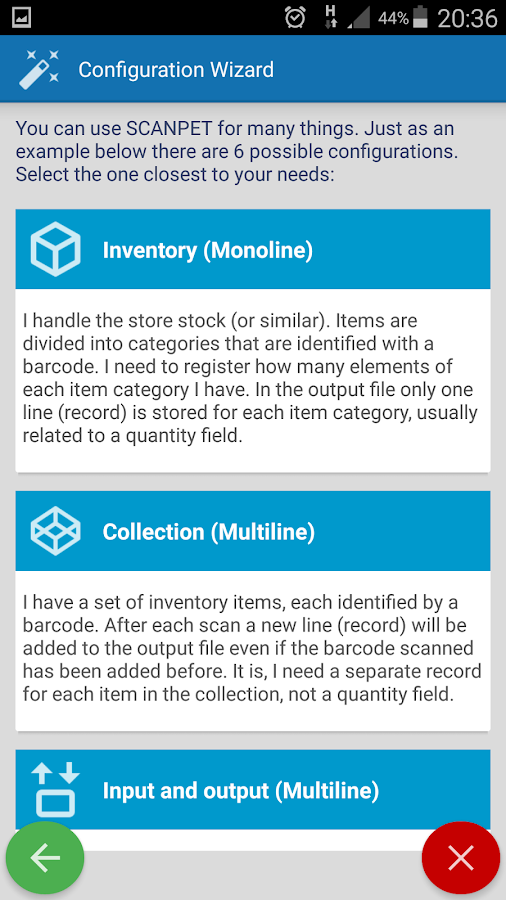 Barcode Scanner + Inventory- screenshot
