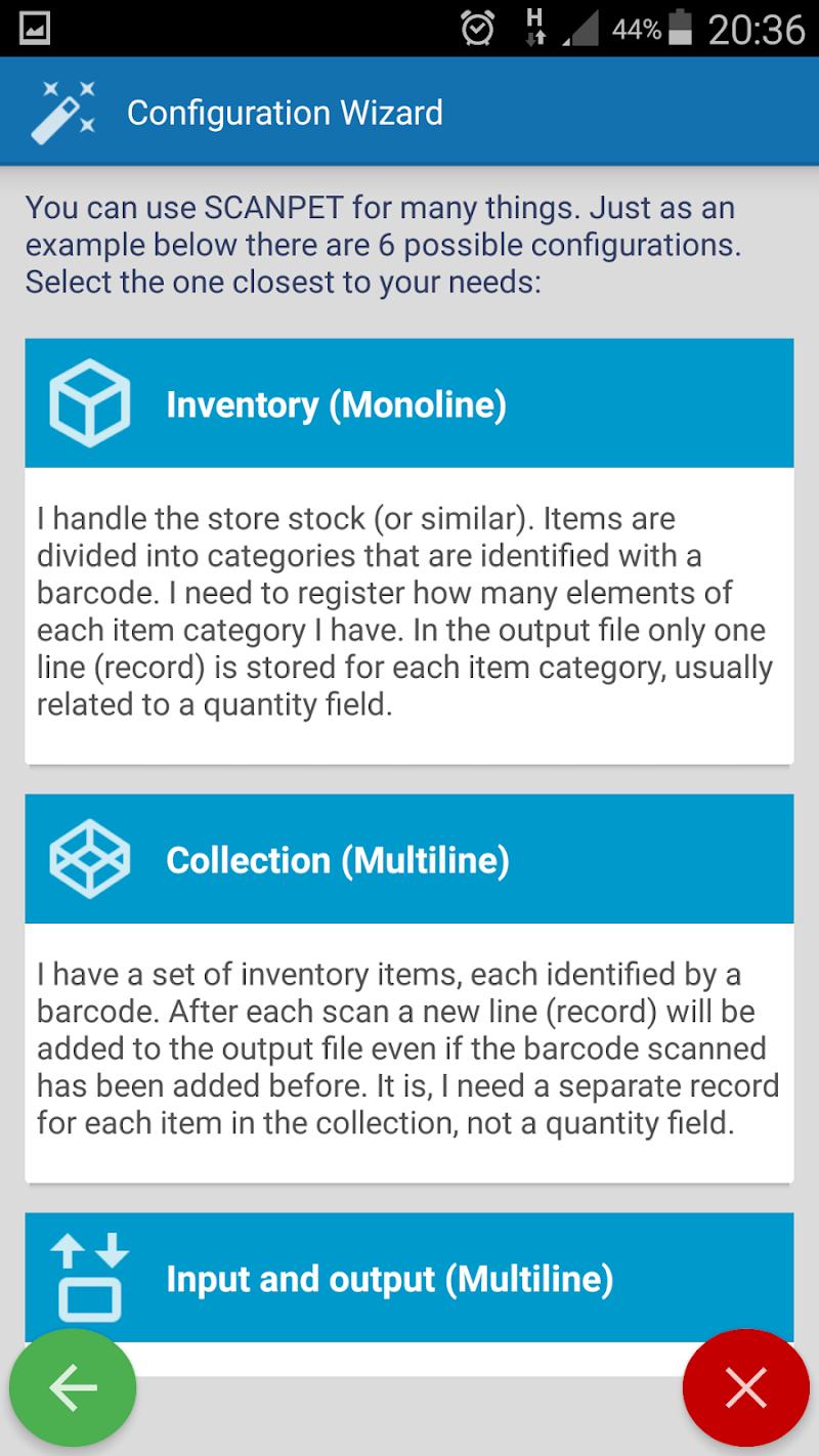 Inventory + Barcode scanner: inventory management Screenshot 2