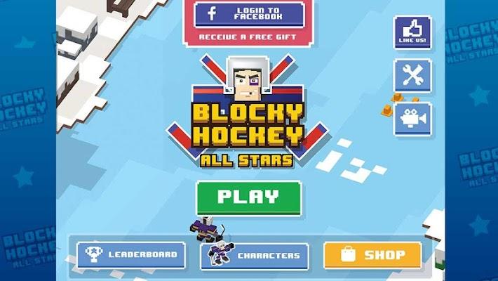 Blocky Hockey All-Stars - screenshot