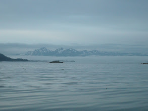 Photo: The Chilkat Mountains across Lynn Canal.