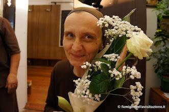 Photo: serie fiori con la nostra fiorellina Maria Elisabetta