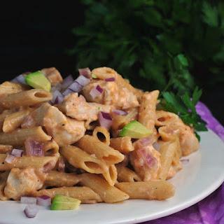 Skillet BBQ Chicken Pasta