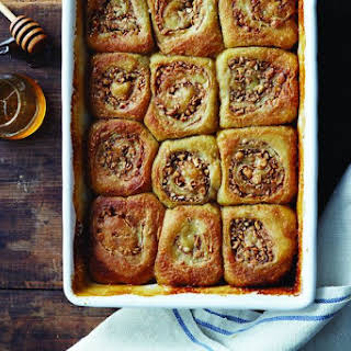 Honey Cashew Morning Buns.