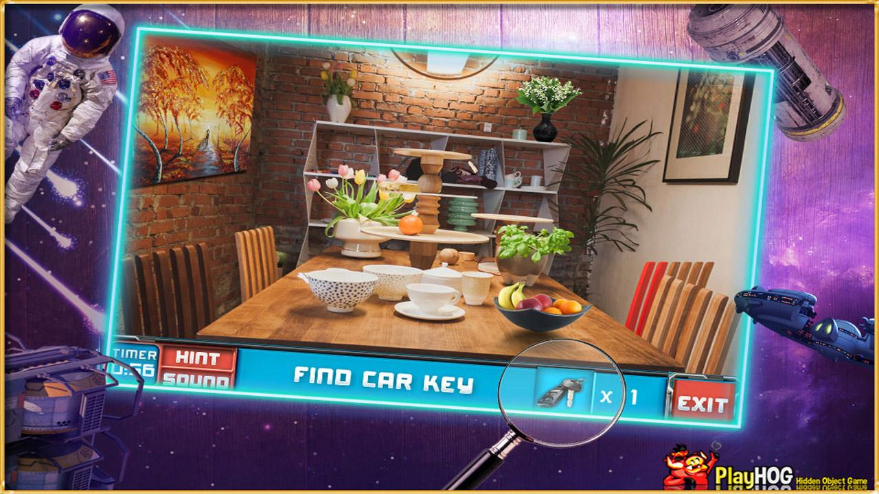 New Free Hidden Objects Games Free New Full Space- screenshot