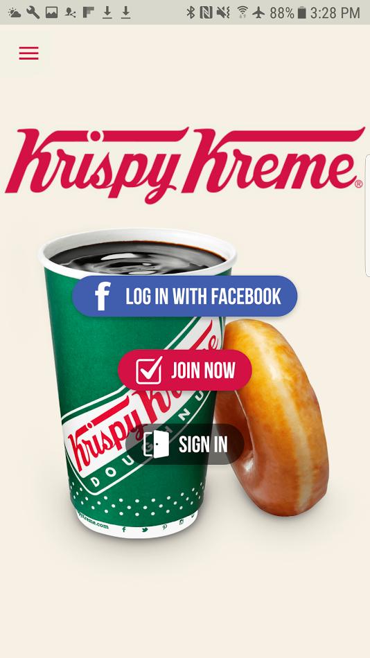 Krispy Kreme Android 1