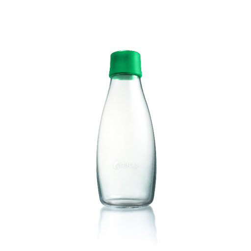 Refillable Glass Water Bottles