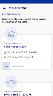 Zurich Seguros ES- screenshot thumbnail