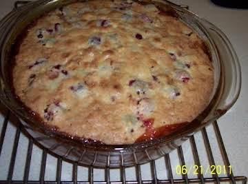 Cranberry Cream Torte