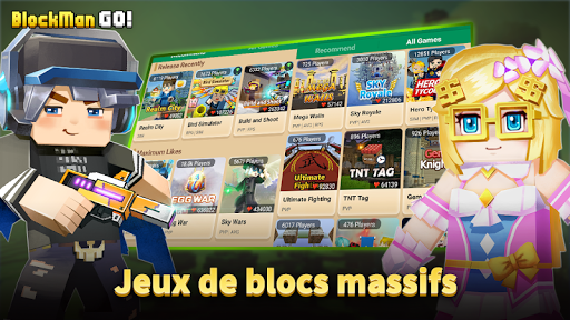 Blockman Go: Blocky Mods APK MOD screenshots hack proof 2