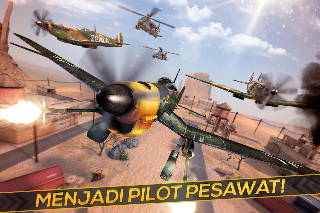 Nyata Perang Pesawat Simulator Apl Android Di Google Play
