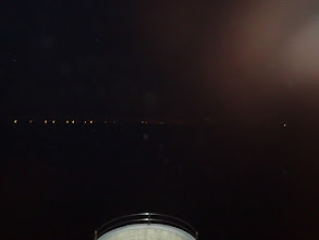 Photo: (双眼鏡を使えば)摩天楼が見える