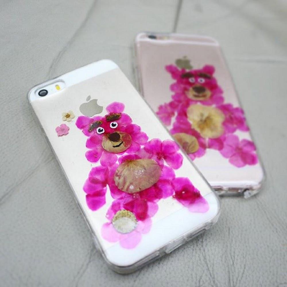 [訂製/custom-made] Lotso Pressed Flower Phone Case