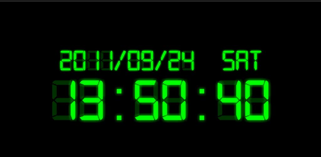 Часы на мониторе компьютера