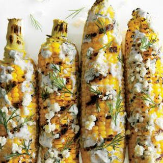 Grilled and Dilled Corn on the Cob