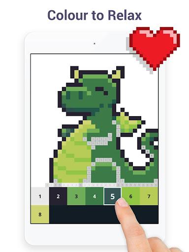 Pixel Art - Colour by Number Book 2.1.2 screenshots 7