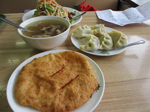 Photo: Food in Mongolia: simple and filling
