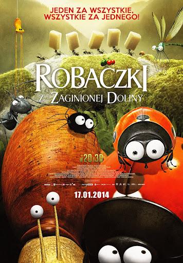 Polski plakat filmu 'Robaczki Z Zaginionej Doliny'