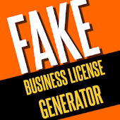 Fake Business License Maker