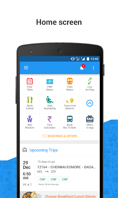 #2. PNR Status & Indian Rail Info (Android)