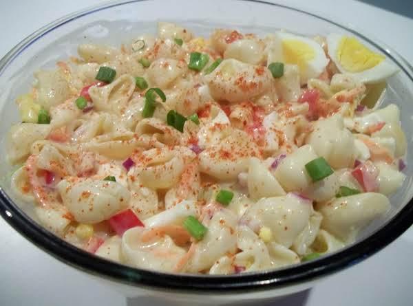 Sweet Macaroni Salad_image