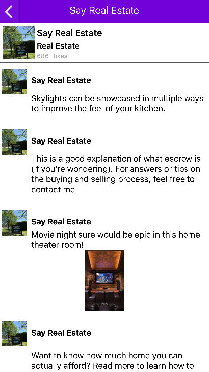 Say Real Estate- screenshot