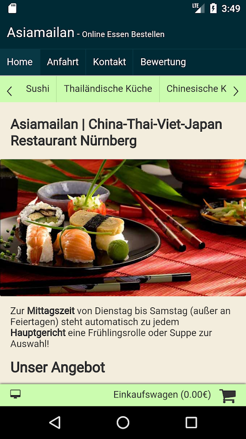Asiamailan Nürnberg- screenshot