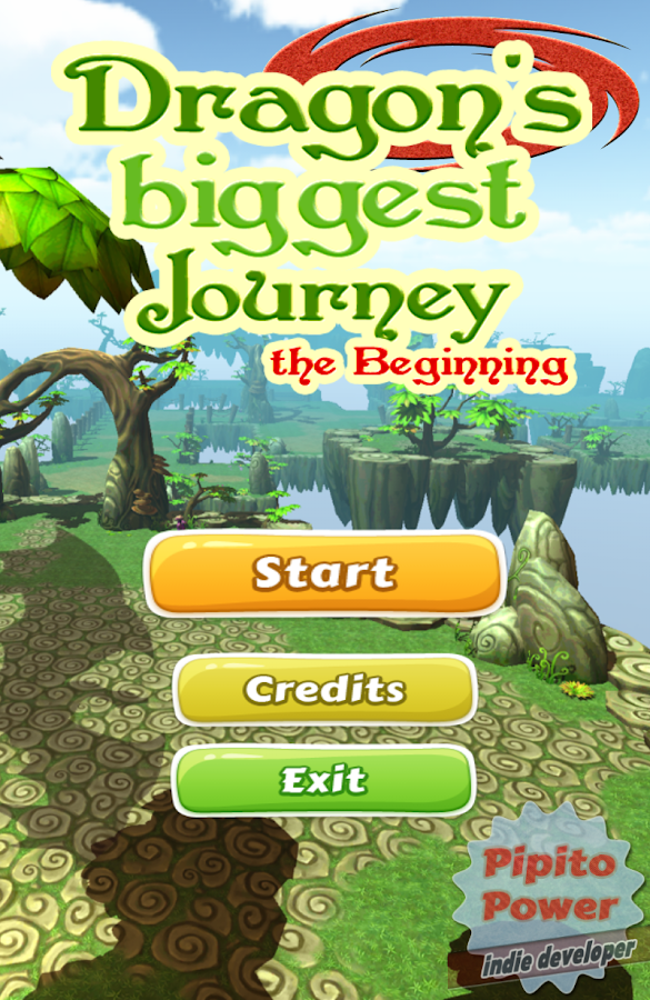 Dragons Biggest Journey- screenshot