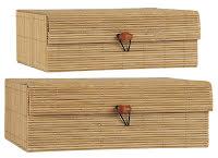 BOX BAMBU