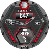 HEX FORCE 3 Color Changer Watchface For WatchMaker Android APK Download Free By JMK32DIGITAL