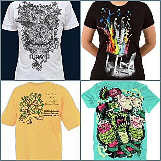 diy t shirt design ideas screenshot - T Shirts Designs Ideas