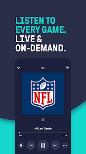 TuneIn Pro - NFL Radio, Music, Sports & Podcasts Screenshot