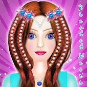 Braided Hairstyle Salon-Girls Hair Salon Games