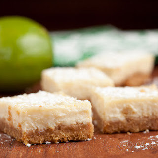 Luscious Key Lime Bars