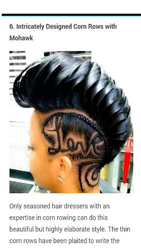 African Hairstyles Screenshot