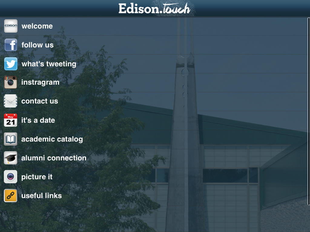 Edison Touch- screenshot