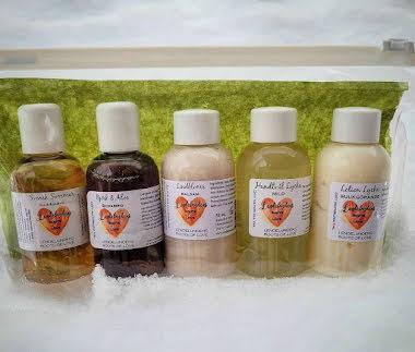 5 sorters Lycka Clean Presentset